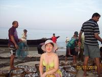 На берегу океана. Рыбаки ловили рыбу...