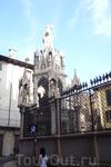 Верона. Арка  Кансиньорио,1375год.