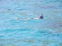 на коралловом пляже
