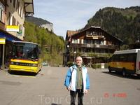 Лыжная станция Лаутенбруннен. Бернские Альпы.