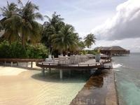 Маафушивару Спа расположенно на тихом углу острова, на собственном причале, окунет вас в блаженство.