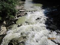 водопад Пробий на реке Прут