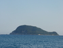 остров Marathone, похож на черепаху...