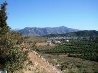 вид на деревушку Мохос в горах