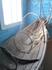 Лодка с разными принадлежностями: сети, рюси, подсачек, весло, якорь.