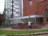 В музее Воды. Корпус Водоканала с музеем