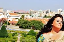 """Прекрасный Дворец маркиза Фронтейра, расположенный в Лиссабоне Его еще называют:""""Оазис в центре города"""""""