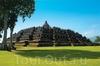 Древнейший буддийский храм Боробудур на острове Ява