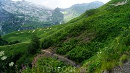 Тропа от Армянского перевала к приюту Фишт