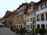 А это сохранившиеся аж с 15 века домики в Штайн-ам-Райне.
