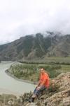 В Чуй-Оозы. Слияние рек Чуя и Катунь