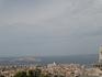 Марсель. Вид с холма Нотр-Дам-де-ля-Гард.