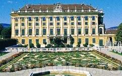 Сад кронпринца у восточного фасада дворца