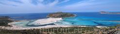 Бухта Балос - потрясающая по своей красоте и нетипичностью для средиземноморья бухта. Находится на западе острова. Добраться туда можно на машине (путь ...