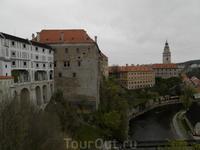 Замок со смотровой площадки