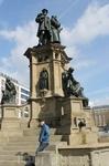 Памятник Иоганну Гуттенбергу. Франкфурт-на-Майне.
