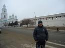 Я на фоне кремля
