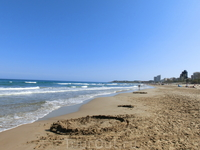 Самым красивым пляжем Аликанте почему-то считается вот этот пляж - Playa de San Juan. В один из дней мы вместо Постигета поехали посмотреть Сан Хуан и ...
