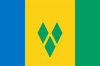 Флаг Сент-Винсента и Гренадинов