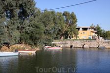 о. Закинтос. город Аликес. Старинный мост над заливом