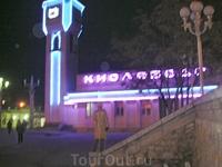 вокзал Кисловодска вечером (перед отъездом)