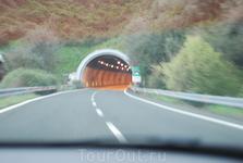 по дороге в Турин, затем в Милан в аэропорт