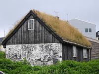 Очередной травяной дом на нашем пути
