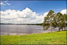 Ферапонтово. Бородаевское озеро