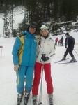 я и мой лыжный инструктор Иван