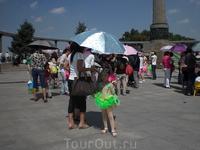 Участница детского концерта на набережной