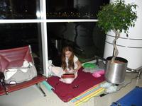 Наш уютный уголок в Дохе)
