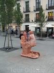 Мадрид. Живая скульптура