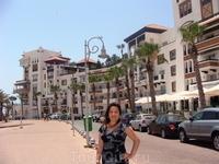 Элитный район Марина в Агадире - центр дорогого шоппинга и шикарных ресторанов.