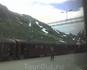 Железнодорожная станция в горах...