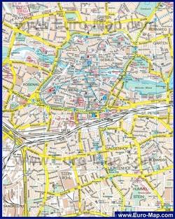 Карта Нюрнберга