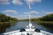 Наше сказочное путешествие началось. Плывем по Москва реке.