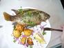Кстати о рыбах. Самая распространенная рыба Галилейского моря - рыба Святого Петра. По евангельскому преданию, именно эту рыбку - тиляпию из отряда окунеобразных ...