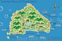 Карта отелей Хайнаня