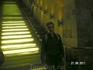 """Экскурсия """"Вселенная воды""""; в холле - лестница-водопад"""