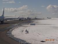 Вылет из Москвы, аэропорт Внуково.