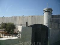 Стена,отделяющая Палестину и Израиль