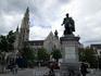 Антверпен. Памятник Рубенсу.