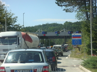 Словенская граница.