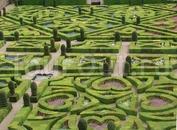 Гламурный сад замка Виландри