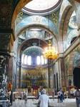 Ново-Афонский монастырь.В храме