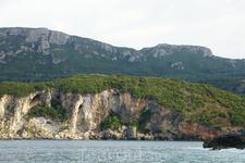 Вид с пляжа Rovinia