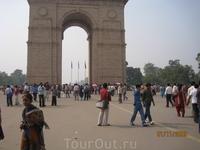 Ворота Индии - место паломничества и индусов тоже