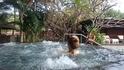 Хотя иногда можно было окунуться и в бурлящий бассейн