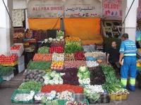 Тихий арабский рынок.