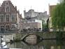 Один из мостов  через Лейе  в городе Гент.